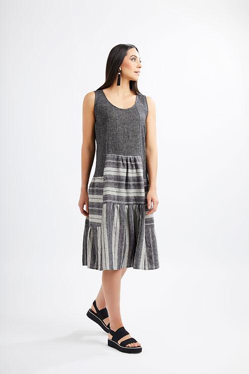 FoiFoils-Label-at-Fetts-Boutique-Wahroonga-Black-Mix-Dressls-Label-at-Fetts-Boutique-Wahroonga-Black-Mix-Dress