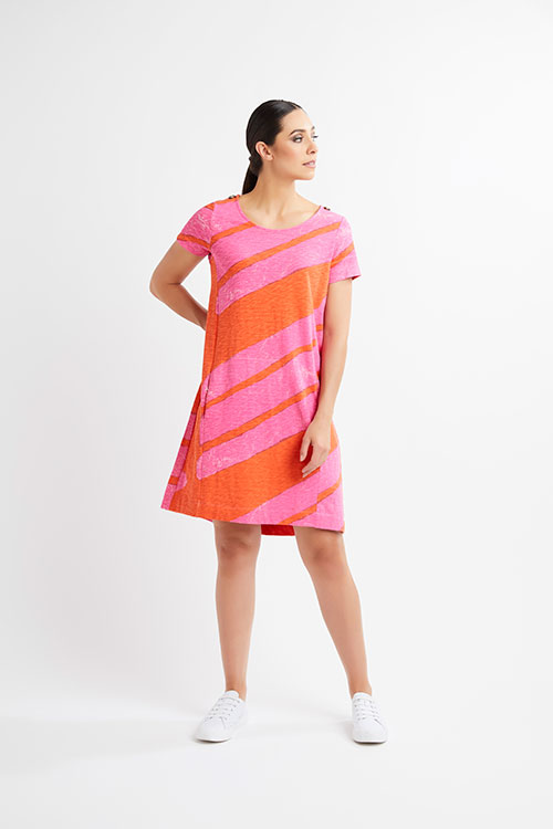 Foils-Label-at-Fetts-Boutique-Wahroonga-Slalom-Pink-Dress